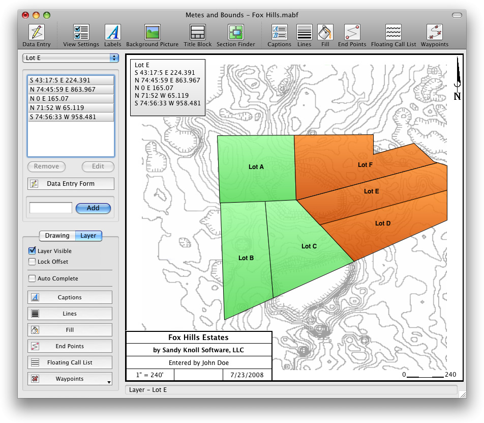 Land Mapping And Land Plotting Software - Map plotting software free