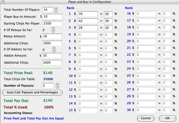 Poker Tournament Software